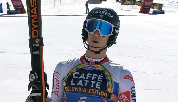 Clement Noel steht wieder auf den Skiern