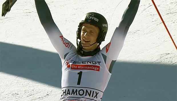 Heimsieg für Clement Noel beim Slalom von Chamonix