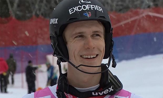 Sieg für Clement Noel beim 1. Europacup-Slalom im Fassatal
