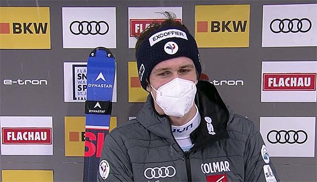 Clement Noel übernimmt Zwischenführung beim 1. Slalom der Herren in Flachau