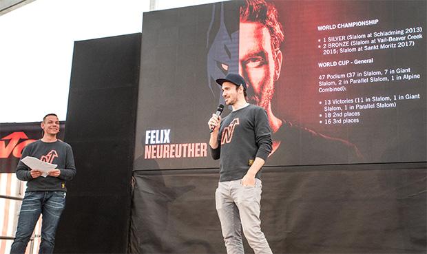 Tobias Stankus und Felix Neureuther (©NORDICA / Simon Rainer)