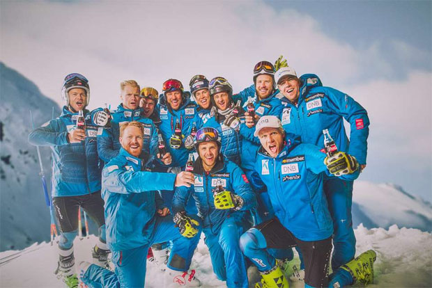 Norwegisches Ski-Team hat in Lake Louise und Killington das Podest im Visier (Foto: www.skiforbundet.no)