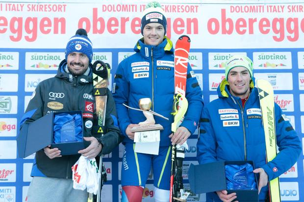 Jean-Baptiste Grange, Loic Meillard und Daniel Yule (Foto: Matteo Groppo)