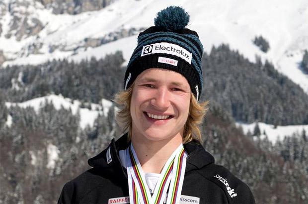 Marco Odermatt Schweizer Meister in der Abfahrt.  (Foto: Marco Odermatt / Facebook)