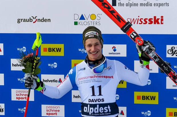 Marco Odermatt gewinnt mit der Kombi vierte Junioren-WM-Goldmedaille (Foto: Marco Odermatt / Facebook)