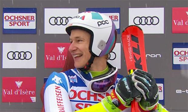 Marco Odermatt konnte sich über einen Sieg und eine zweiten Platz bei den EC-Super-G Rennen in St. Moritz freuen.