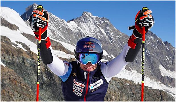 Marco Odermatt möchte in Sölden mit Schwung in die neue Ski Weltcup Saison starten (Foto: © Marco Odermatt / Instagram)