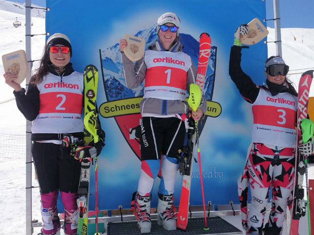 © Swiss-Ski / Ulisse Delea: FIS-Wertung (Martina Dubovska, Rahel Kopp, Hannah Köck)
