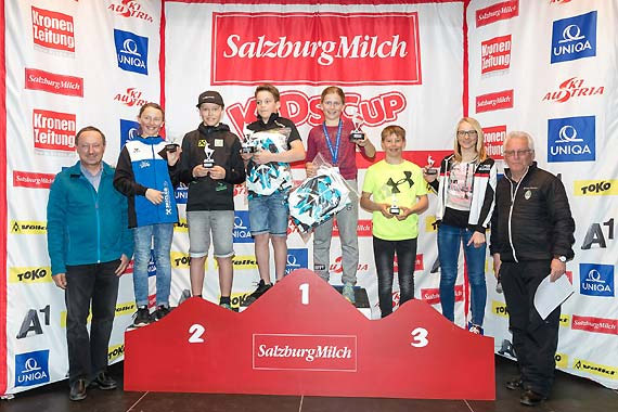 Die SiegerInnen der Einzelwertung. (Foto: Peter Lintner)