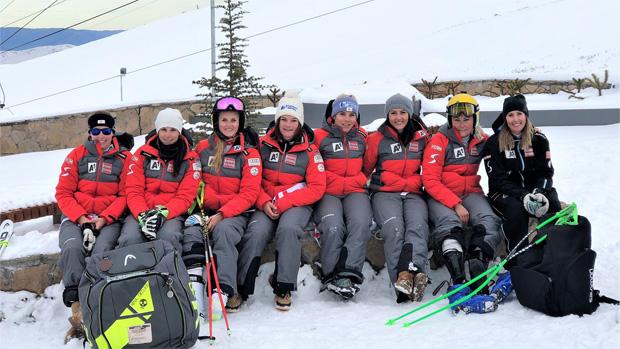 ÖSV-News: Erfolgreiches Training für Speed-Damen in Chile (Foto: ÖSV)