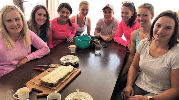 Auch das gemütliche Zusammensein, bei einer Tasse Kaffee, gehörte zum Teambuilding dazu (Foto: ÖSV)