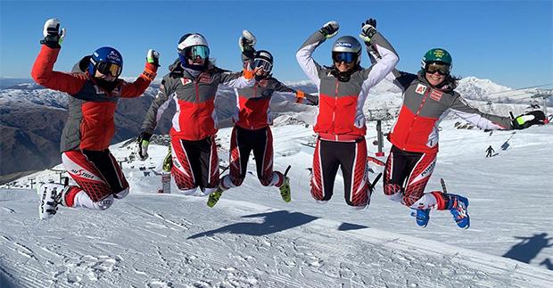 ÖSV-Technikerinnen haben vier erfolgreiche Trainingswochen in Neuseeland hinter sich (Foto: ÖSV)