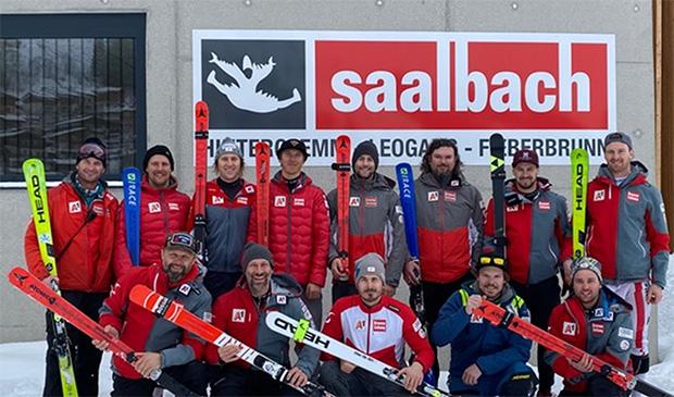 ÖSV NEWS: Europacup-Speed Team in Saalbach (Foto: © ÖSV/Perner)