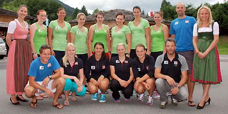 © ÖSV / Malzer: Das Damen Team bereitet sich im Moment beim Stanglwirt auf den kommenden Winter vor.