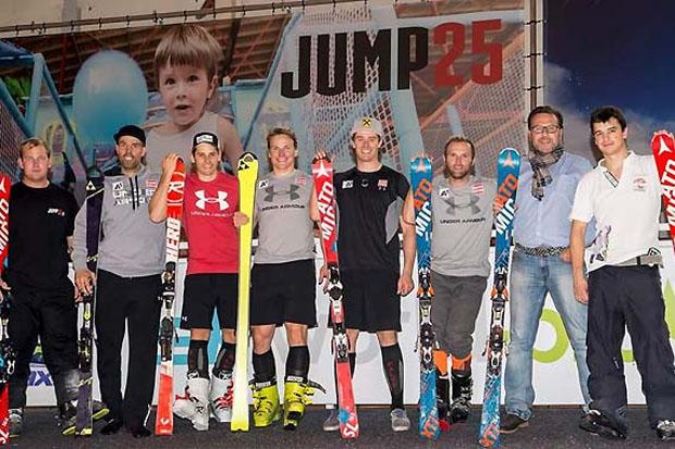 """Die Europacup-Herren feilten zuletzt in der """"Skiworld-Pro"""" an ihrer Technik. (Foto: ÖSV)"""