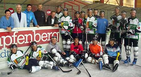 In Kapfenberg wurde beim Eishockey an der Schnellkraft gefeilt. (Foto: ÖSV)