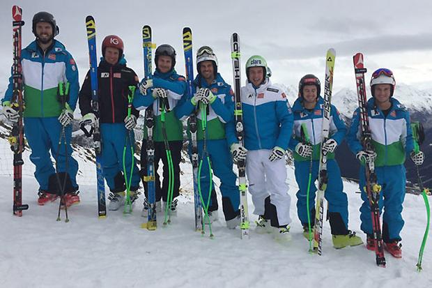 Sieben auf einen Streich! Der ÖSV-Nachwuchs setzte beim FIS Super-G in Davos ein Ausrufezeichen. (Foto: ÖSV)
