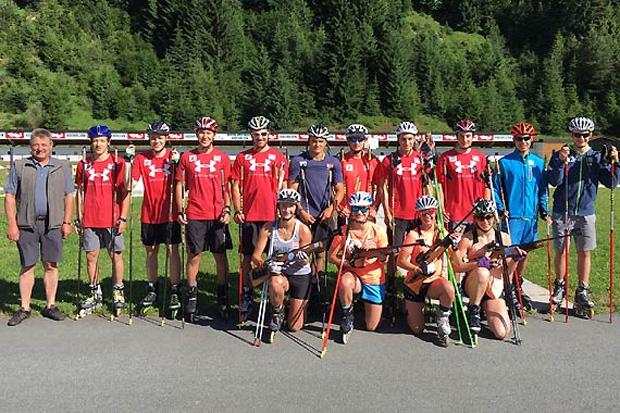 Die ÖSV-Alpintalente absolvierten zuletzt einen viertägigen Konditionsblock in Hochfilzen. (Fotos: ÖSV)