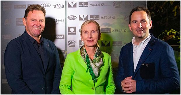 Die neue Führungsspitze des ÖSV: (v.l.) Finanzreferent Patrick Ortlieb, Präsidentin Roswitha Stadlober und Generalsekretär Christian Scherer (Foto: ÖSV)