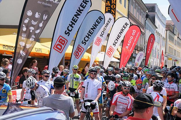 Grieskirchner Radmarathon - Startbereich (© DB Schenker)