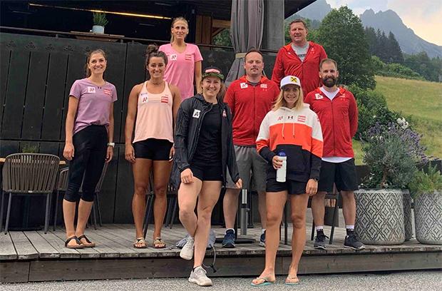 Die Slalom-Damen wurden fünf Tage im Mama Thresl in Leogang bestens betreut. (Foto: © ÖSV)