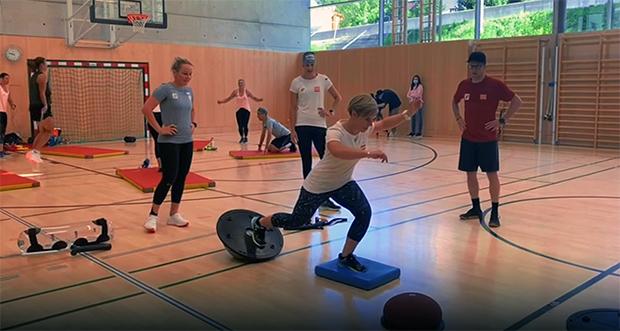 Intensive Trainingswoche der ÖSV-Speed Damen in Bad Hofgastein
