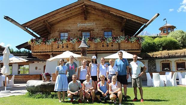 ÖSV-News: Die Speed1-Damen waren fünf Tage beim Stanglwirt in Kitzbühel zu Gast. (Foto: © ÖSV)