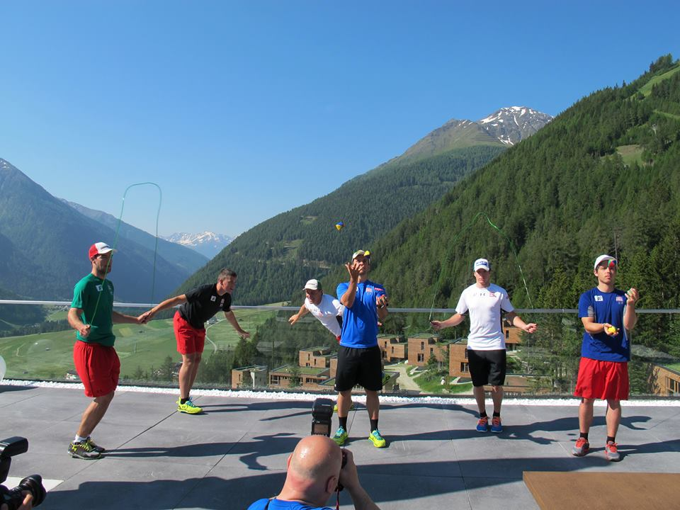 © ÖSV/Facebook: Traumhafte Trainingsbedingungen für das RS&Kombi Team im Gradonna Mountain Resort Châlets & Hotel in Kals am Großglockner