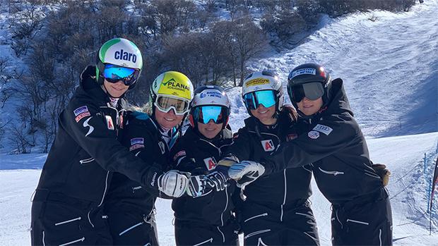 Hinter den Speed-Damen liegen zwei Wochen Training in Nevadas de Chillan (CHI). (Foto: © ÖSV)
