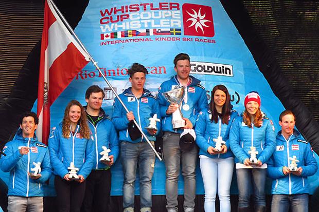© ÖSV / Das ÖSV-Team dominierte die 22. Auflage den Whistler Cups. (Foto: Nigel Loring)