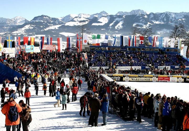 © Gerwig Löffelholz / Ofterschwang freut sich auf die Ski Weltcuprennen am Wochenende