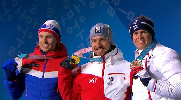 Marcel Hirscher ist nach einer Machtdemonstration Olympiasieger im Riesentorlauf.