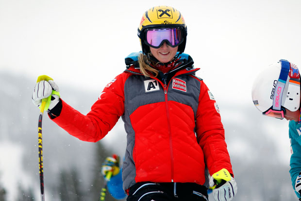 Nina Ortlieb gewinnt 1. Europacup Super-G in Innerkrems (© HEAD / AGENCE ZOOM)