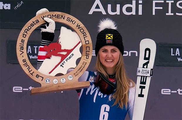 Nina Ortlieb will weitere Ski Weltcup Siege für den ÖSV einfahren.