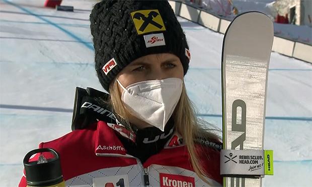 UPDATE: Schocknachricht - Nina Ortlieb schwer am Knie verletzt