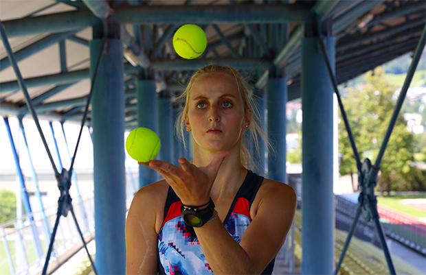 """Nina Ortlieb: """"Schon viele Athletinnen und Athleten haben gezeigt, dass man stärker zurückkommen kann. Das ist auch mein Ziel."""" (Foto: © Chris Ebenbichler)"""
