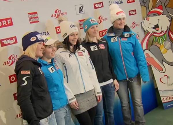 ÖSV Super G Team WM 2013