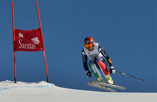 Paolo Pangrazzi gewinnt die Alpine Kombination in Reinswald (Foto Oberkofler)