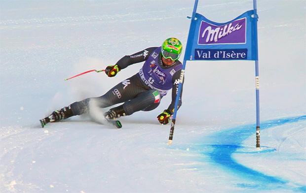 Dominik Paris landet bei Super-G in Val d'Isère auf Rang drei