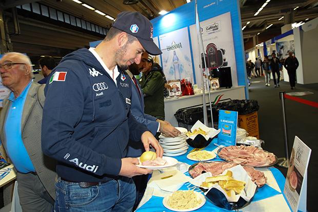 Ultner Brot als gesundes Doping für Domme Paris (Foto: © Archivio FISI/ Marco Trovati/Pentaphoto)