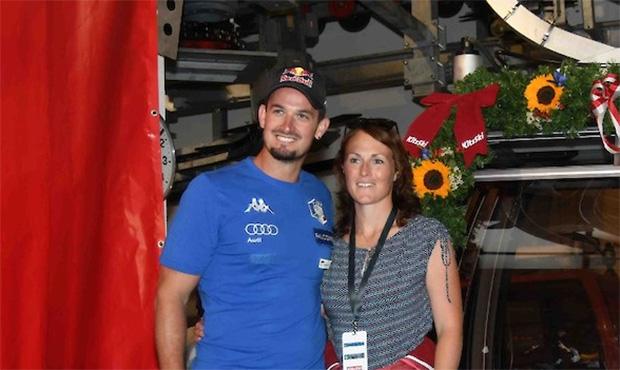Dominik Paris und seine Kristina wurden zum zweiten Mal Eltern (Foto: © Hahnenkamm.com)