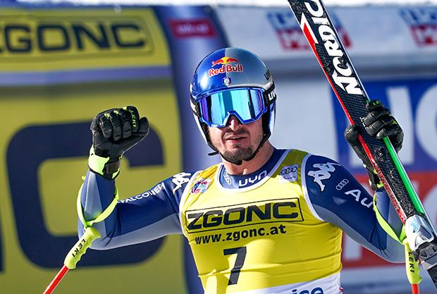Mit Dominik Paris geht es weiter aufwärts (Foto: Erich Spiess/ASP/Red Bull Content Pool)