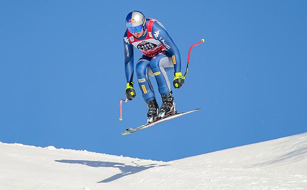 """Dominik Paris: """"Ich werde mir genug Zeit geben, so dass meine Verletzung gut verheilt."""" (Foto: Erich Spiess/ASP/Red Bull Content Pool)"""
