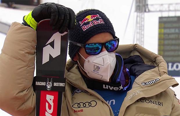 Dominik Paris ist erstmals Italienischer Meister in der Abfahrt