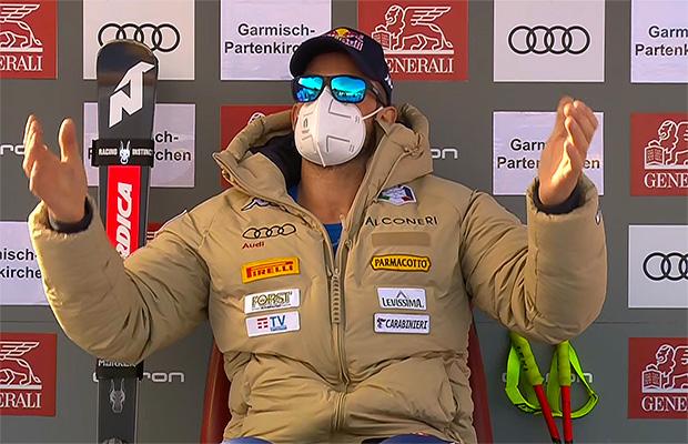 Dominik Paris gewinnt Abfahrt von Garmisch-Partenkirchen