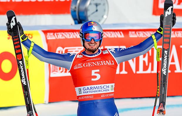 """Dominik Paris im Skiweltcup.TV-Interview: """"Ich würde mich freuen, wenn wir Ende August wieder in Südamerika trainieren könnten!"""" (Foto: Erich Spiess/ASP Red Bull)"""