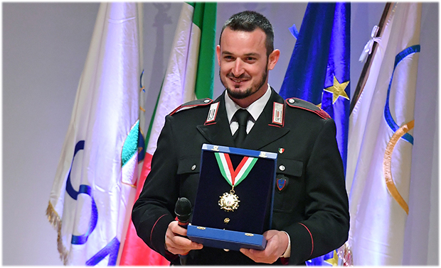 """""""Collare d'oro"""": Große Auszeichnung für Federica Brignone und Dominik Paris (Foto: © Simone Ferraro)"""