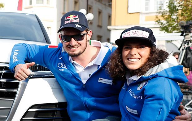 Cortina freut sich am Wochenende auf Dominik Paris und Federica Brignone (Foto: © Archivi FISI/Marco Trovati/Pentaphoto)