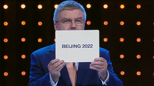Die chinesische Hauptstadt Peking richtet die Olympischen Winterspiele 2022 aus.