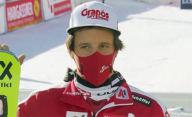 Adrian Pertl verpasst Slalompodest in Chamonix nur knapp